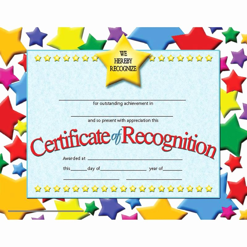 High Quality Certificate Paper Lovely Certificates Of Recognition 30 Pk Products