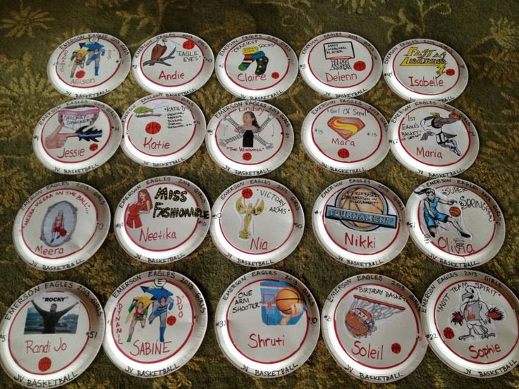 High School Basketball Awards Ideas Awesome the 18 Best Paper Plates Awards Ideas Images On Pinterest