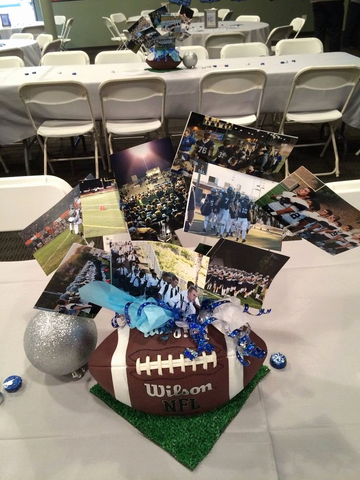 High School Basketball Awards Ideas Inspirational Football Centerpiece