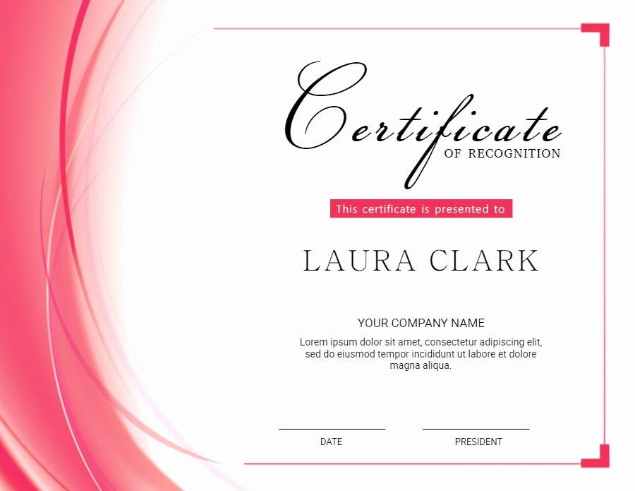 High School Graduation Certificate Template Best Of High School Diploma Template Design Pink