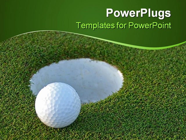 Hole In One Certificate Template Unique Powerpoint Template Golf Ball On Green Just Centimeters