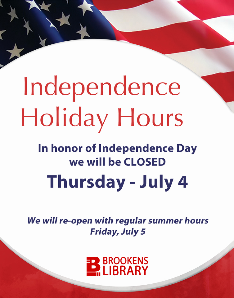 Holiday Hours Template Word Inspirational Independence Day Closure – What S New at Brookens