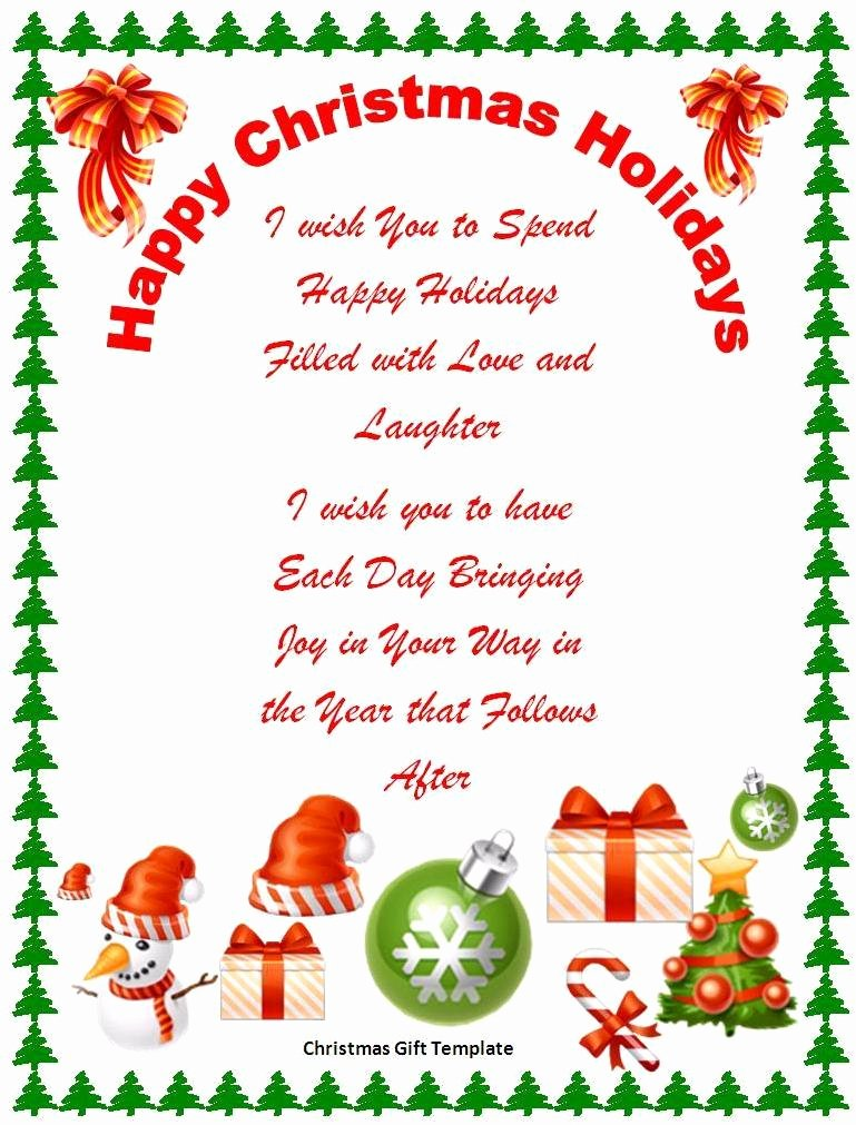 Holiday Hours Template Word Luxury Merry Christmas Microsoft Word Templates – Festival