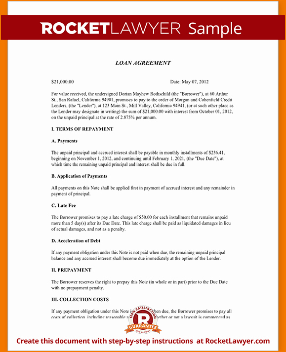 Home Equity Loan Agreement Template Awesome 5 Sample Personal Loan Agreement
