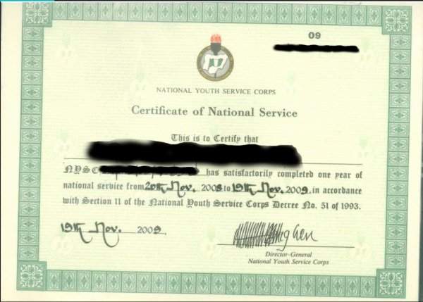 Honorable Discharge Certificate Template Best Of Pare & Contrast original and Fake Nysc Exemption