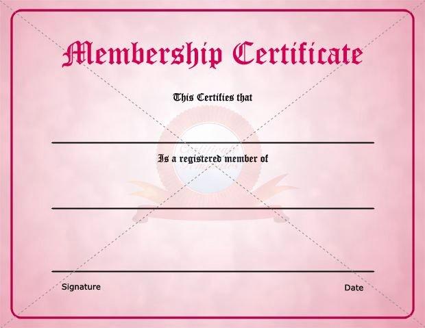 Honorary Life Membership Certificate Template Fresh 29 Of Membership Certificate Template