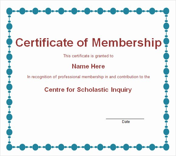 29 images of membership certificate template 1135