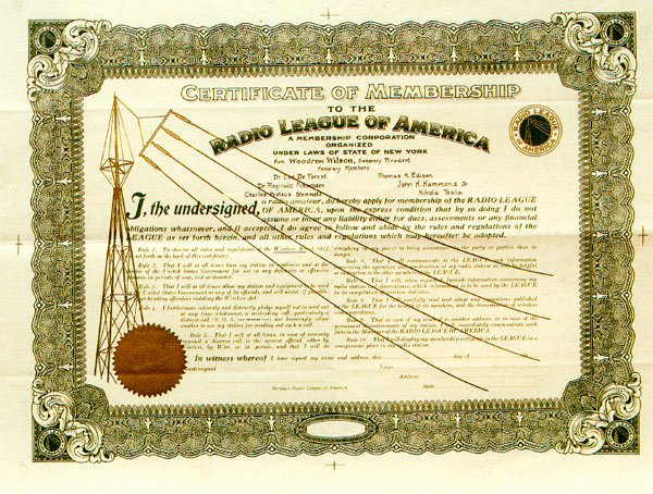 Honorary Member Certificate Template Awesome Honorary Membership Certificate From the Radio