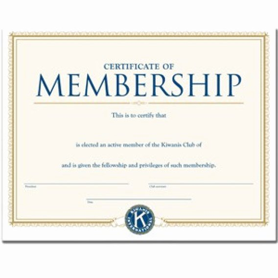 Honorary Member Certificate Template Luxury Membership Certificate Template