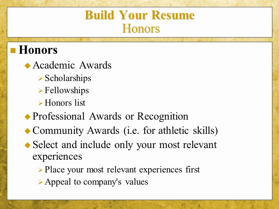Honors In Resume Awesome Examples Awards Wecanfixhealthcarefo