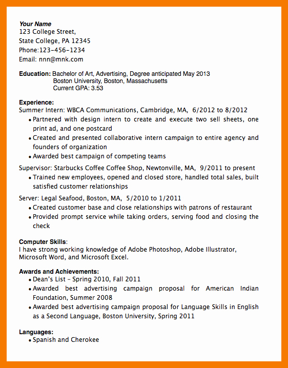 Honors In Resume Unique 9 10 How to Write Honors On Resume