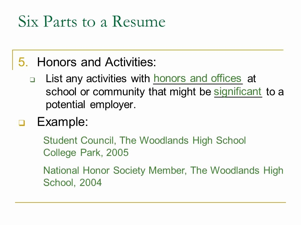 Honors On Resume Elegant Download the 4 Disciplines Execution Achieving Your