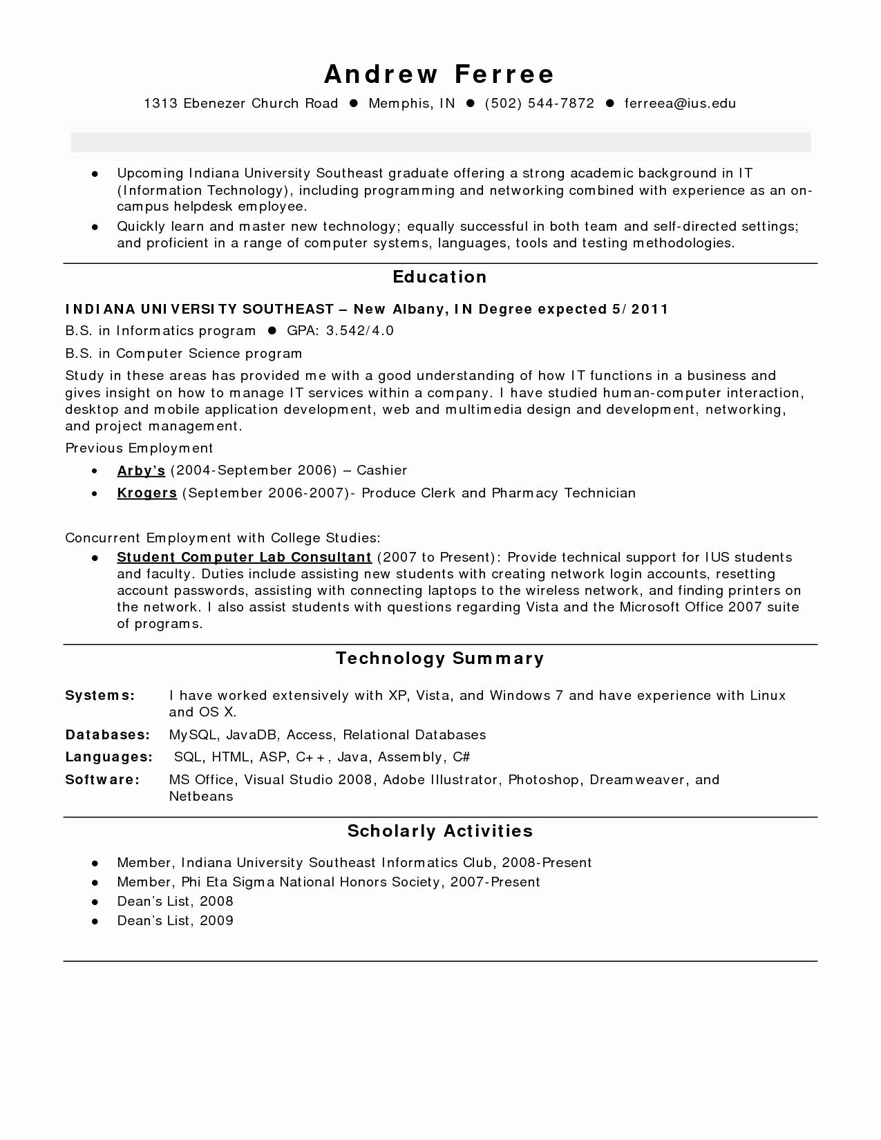Honors On Resume Fresh 10 How to List Honor society Resume