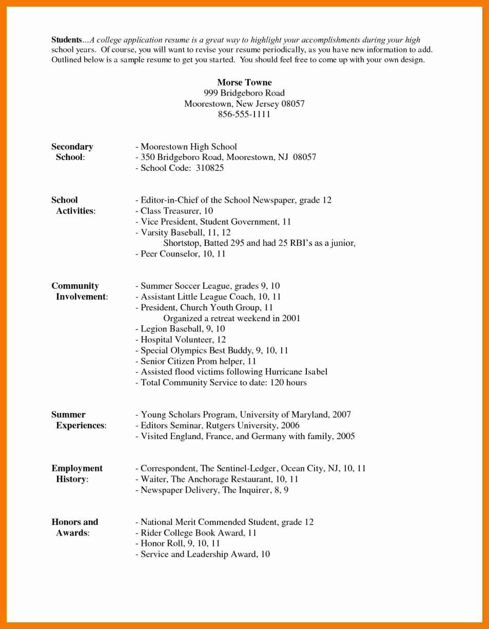 Honors On Resume Lovely 9 10 How to Write Honors On Resume