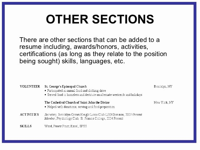 Honors On Resume Unique Awards and Honors Section Resume