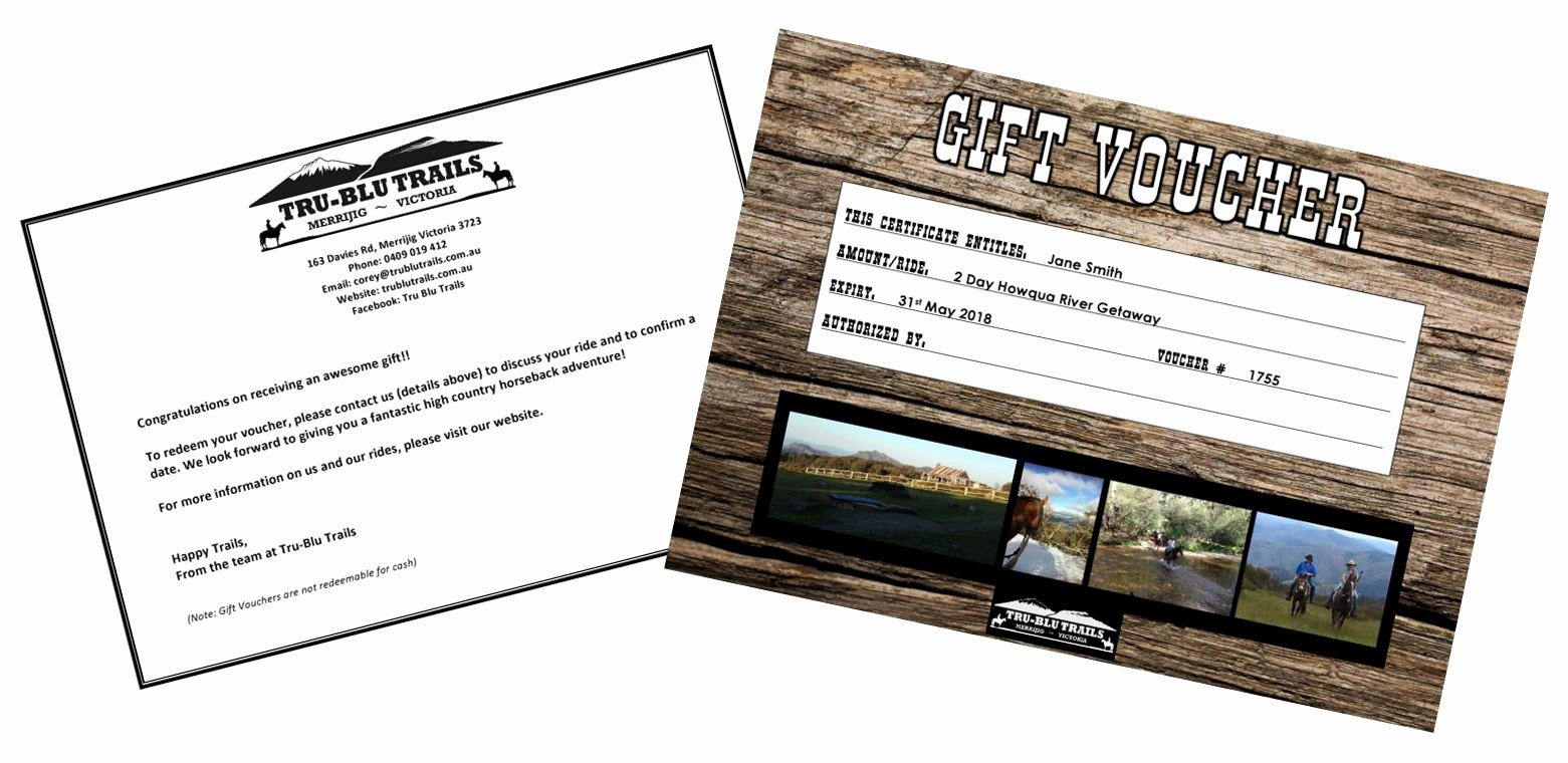 Horseback Riding Lesson Gift Certificate Template Beautiful Gift Certificates Horse Trail Riding Victoria
