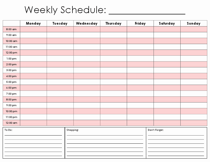 Hourly Calendar Template Fresh E Tiny Moment Hourly Calendar