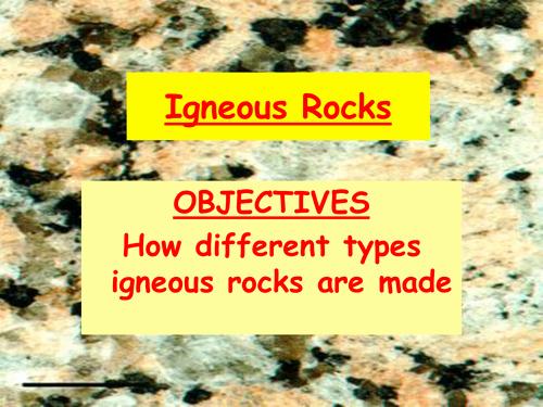Igneous Rock Worksheet Lovely Igneous Rocks Worksheet by Danbrown360 Teaching