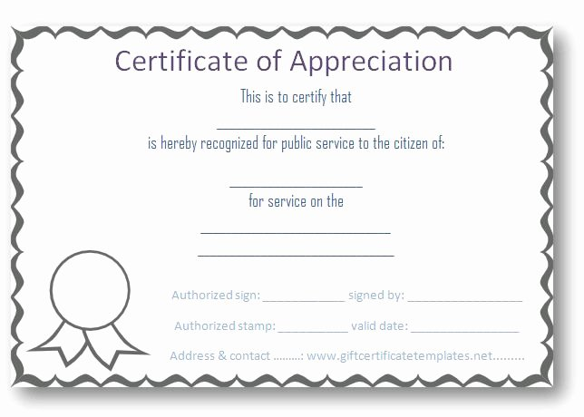 Image Of Certificate Of Appreciation Awesome 37 Best Images About Certificate Of Appreciation Templates