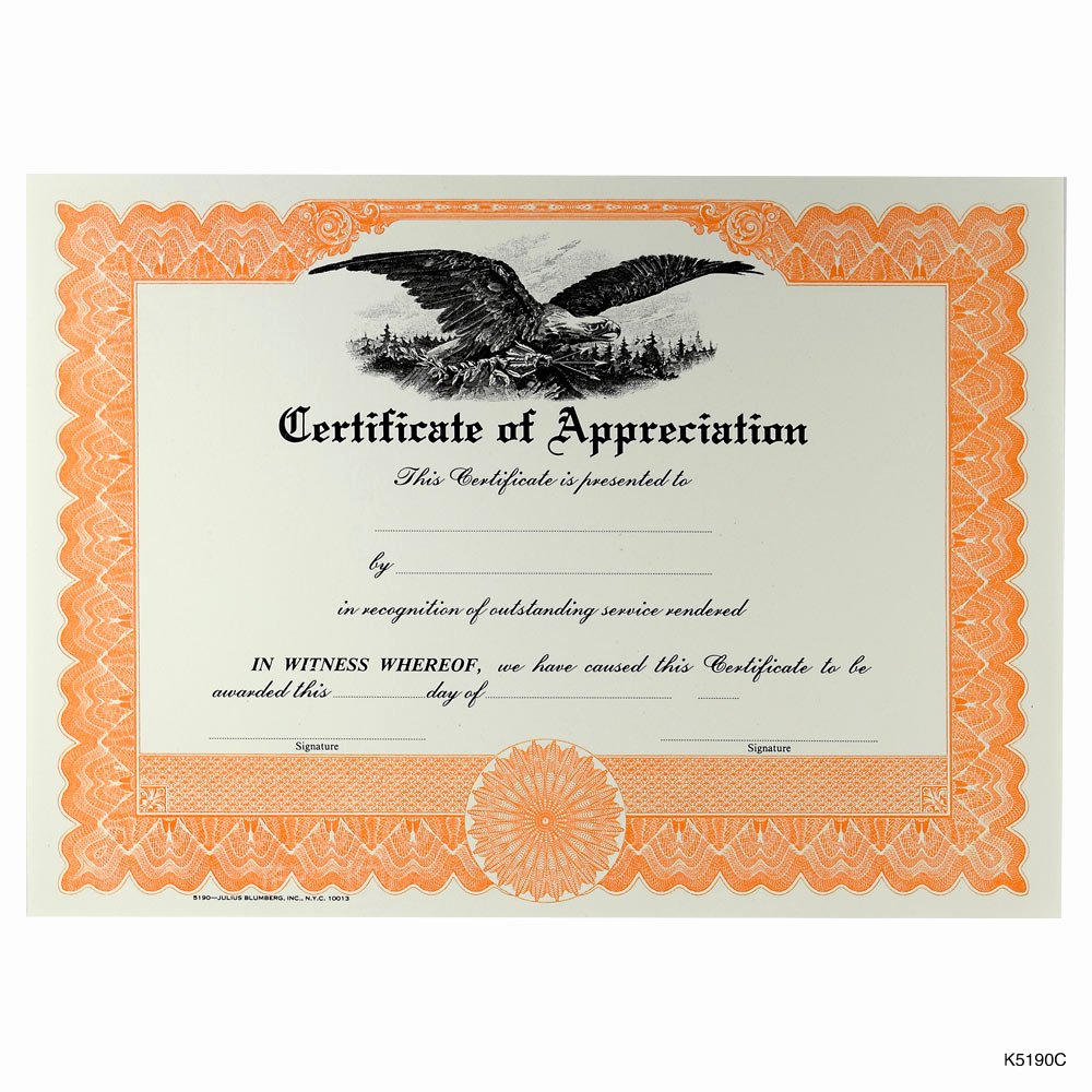 Image Of Certificate Of Appreciation Luxury Blank Award and Achievement Certificates and Certificates