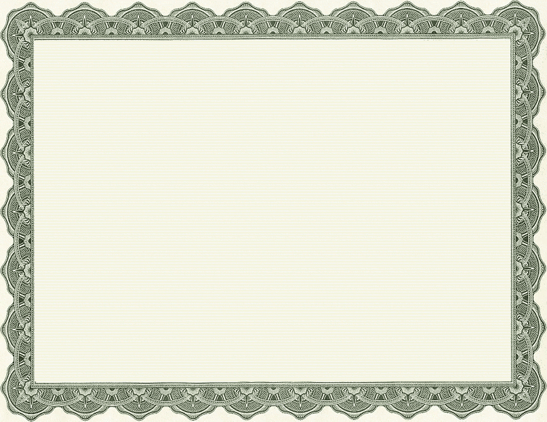 Images Of Certificate Borders New 4 Best Of Printable Blank Certificate Borders