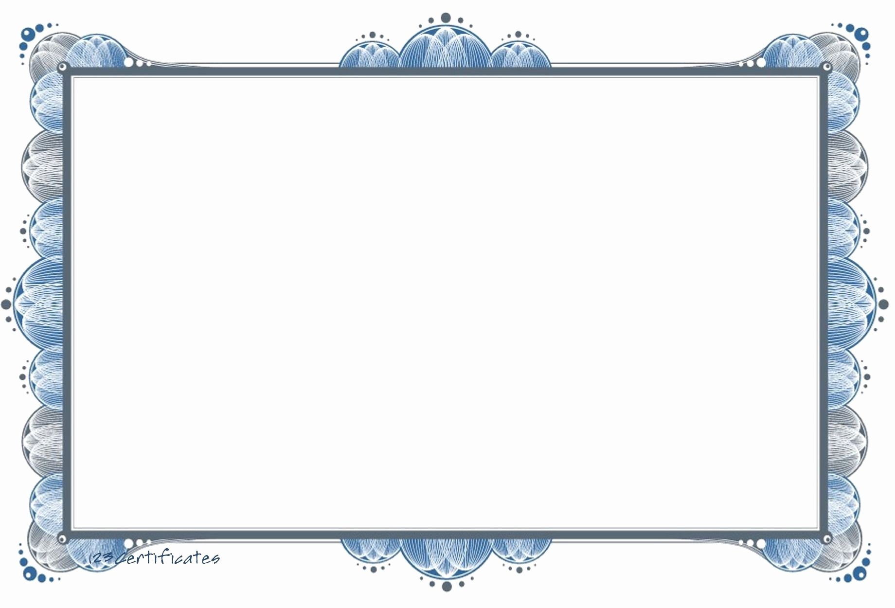 Images Of Certificate Borders Unique Free Templates