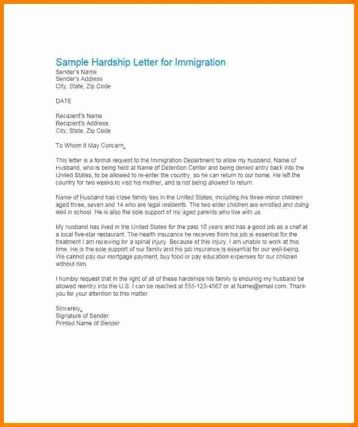 Immigration Pardon Letter Sample Luxury 11 Immigration Pardon Letter Sample