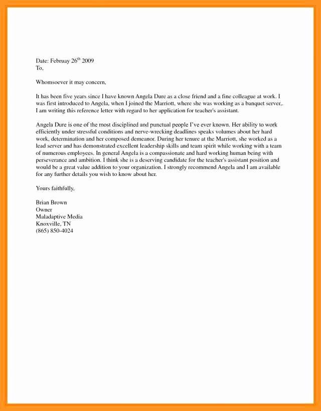 Immigration Support Letter Sample Fresh 12 13 Immigration Letters Samples