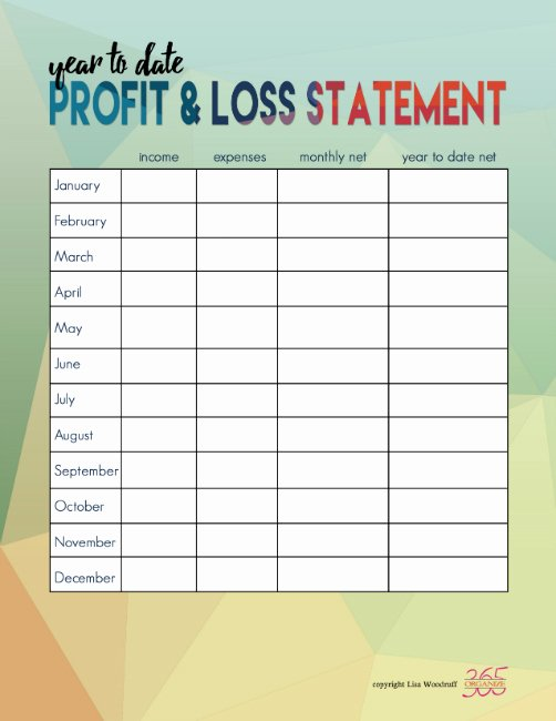 Income and Expense Statement form Luxury In E and Expense Tracking Printables the Happy