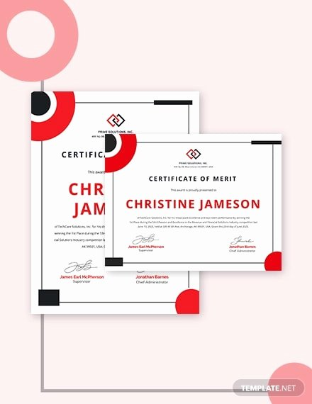 Indesign Certificate Template Free Elegant Free 16 Examples Of Certificate Of Appreciation In