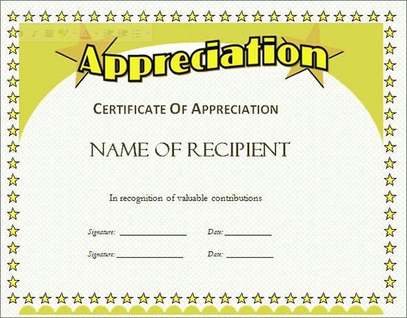 Indesign Certificate Template Free Elegant Free 35 Best Printable Certificate Of Appreciation