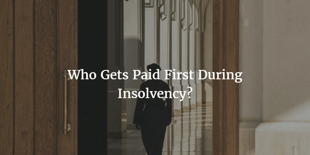Insolvency Letter to Creditors Template Luxury order Of Creditors In Liquidation Priority Of Creditors