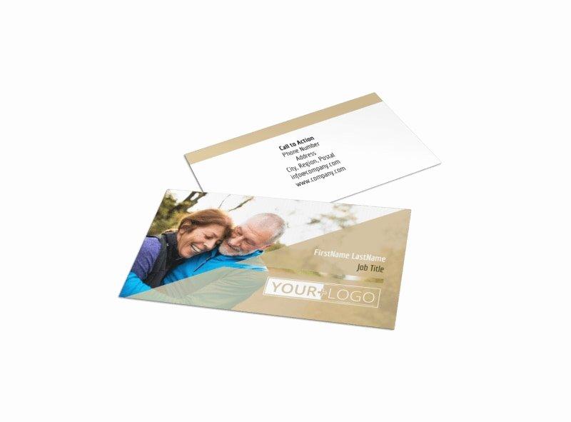 Insurance Card Template Elegant Medical Insurance Business Card Template