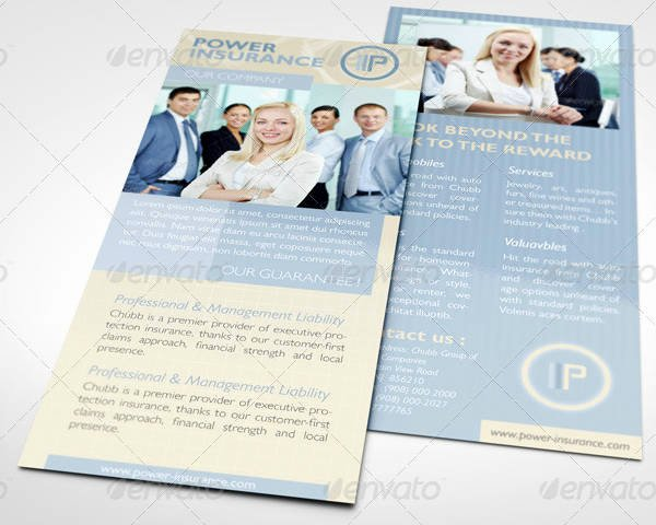 Insurance Card Template Pdf Elegant 12 Business Rack Card Designs & Templates Psd Ai Word
