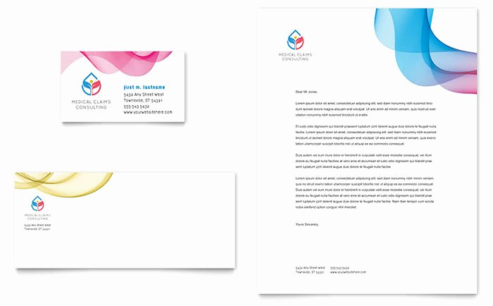 Insurance Card Template Pdf Lovely Insurance Consulting Business Card & Letterhead Template