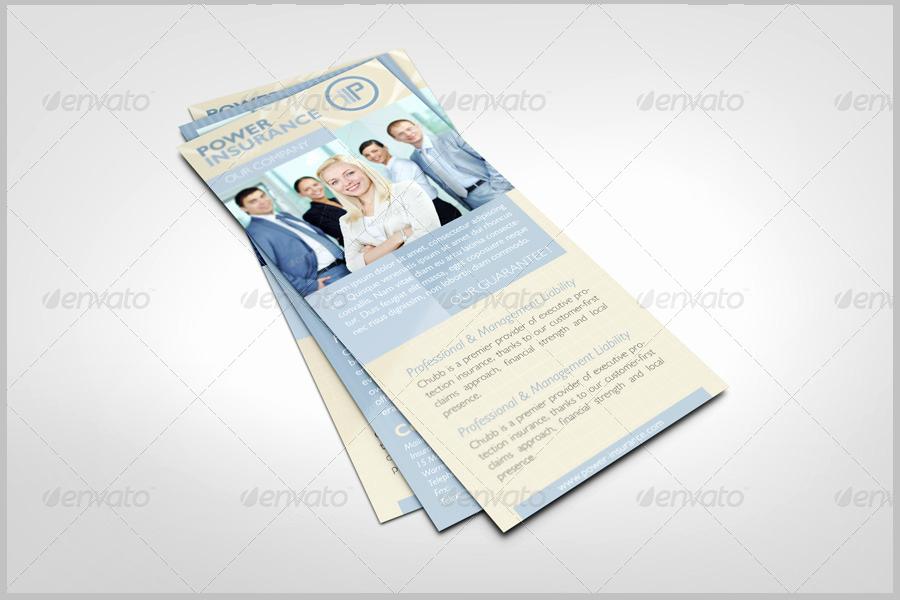 Insurance Card Template Word Luxury 43 Best Rack Card Templates Word Psd Ai