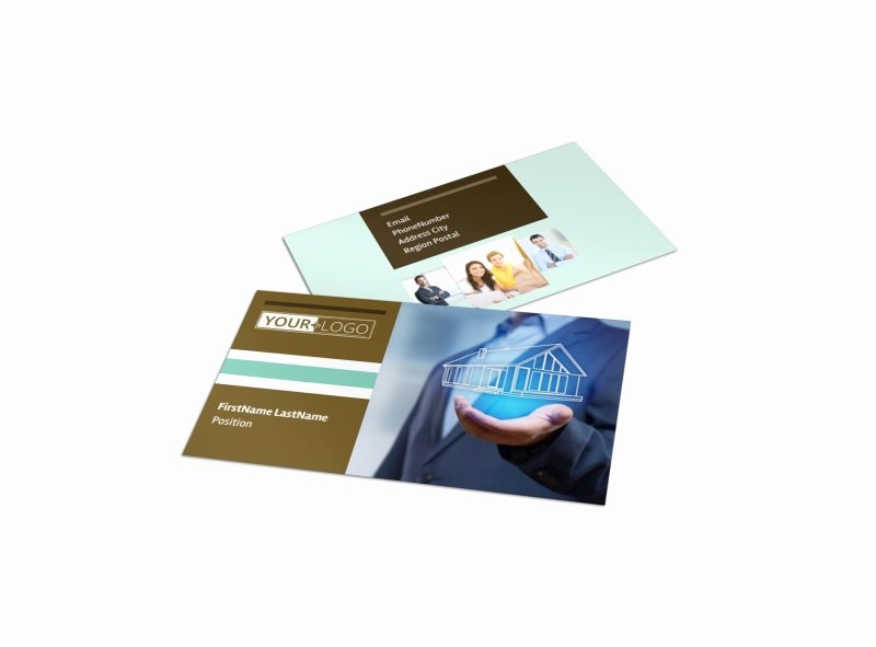 Insurance Card Templates Awesome Home Insurance Business Card Template