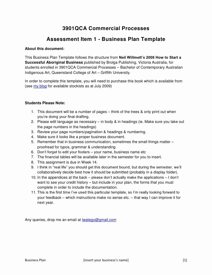 Internal Business Proposal Examples New 3901 Qca Business Plan Concept Template