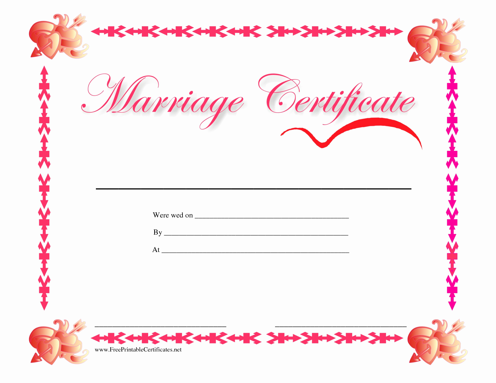 Islamic Marriage Certificate Template Fresh Certificate Template Category Page 28 Efoza