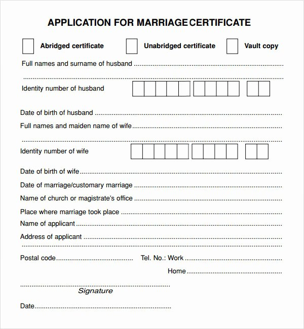 Islamic Marriage Certificate Template New What is the Significance Of Registering Marriage In the West