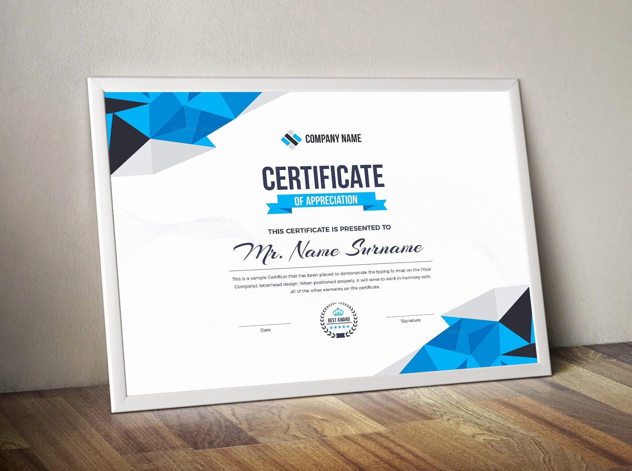 Jewelry Certificate Of Authenticity Template Fresh Diamond Elegant Professional Certificate Template