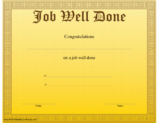 Job Well Done Certificate Beautiful I M Curious too What Really Motivates Us