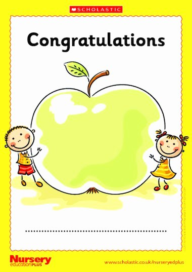 Job Well Done Certificate Beautiful Well Done Certificate – Early Years Teaching Resource