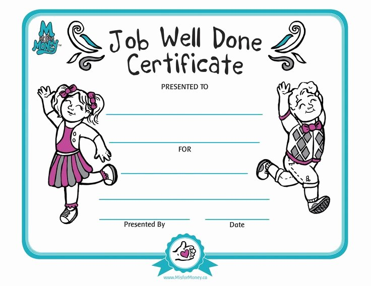 Job Well Done Certificate Lovely 17 Best Images About Work On Pinterest