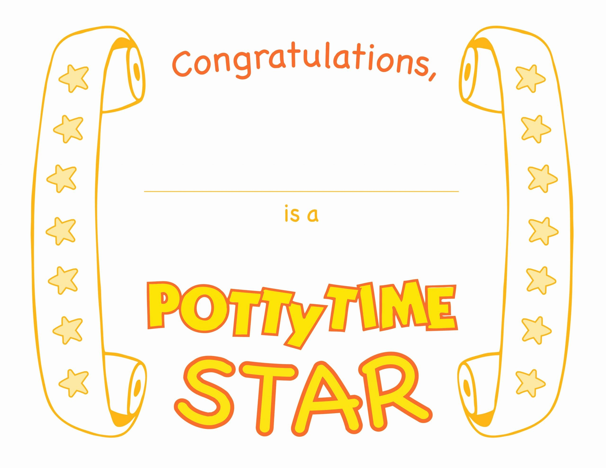 Job Well Done Certificate Lovely Pottyplay Stickers Give Your Child An Incentive to Learn