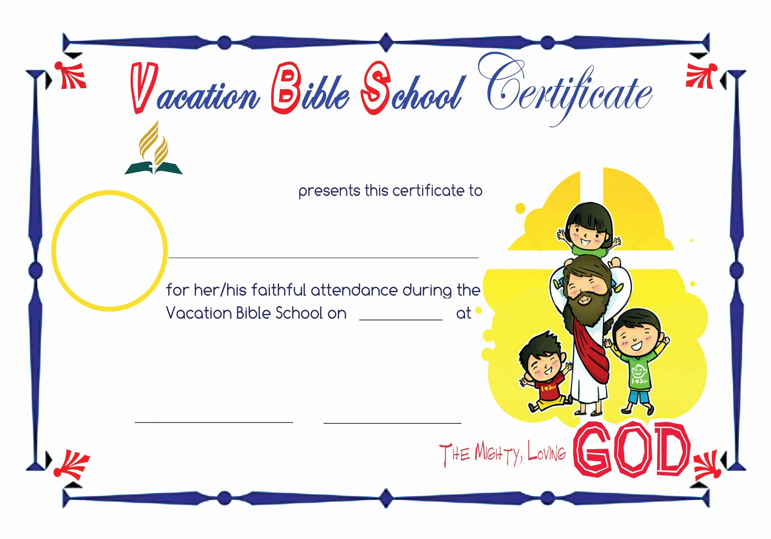Jones Awards Certificate Templates Inspirational Bible School Certificates to Pin On Pinterest