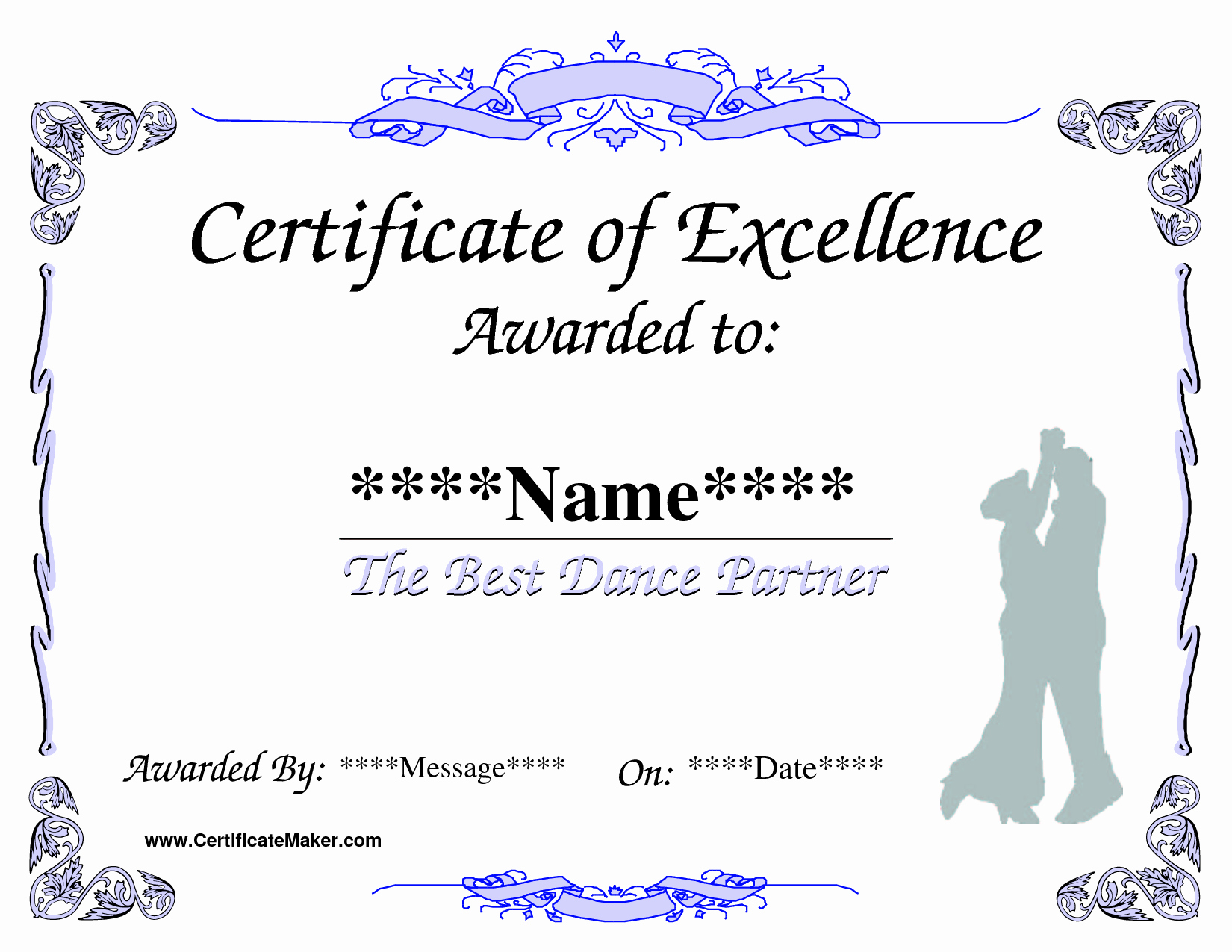 Jones Awards Certificate Templates Inspirational Dance Award Certificate Template Places to Visit