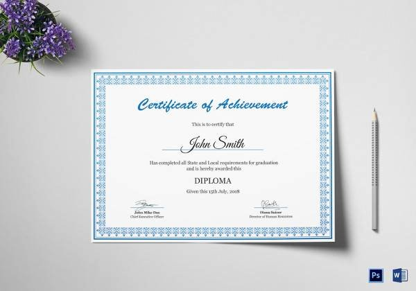 Junior Achievement Certificate Of Achievement Template Beautiful 40 Best Certificate Of Achievement Templates In