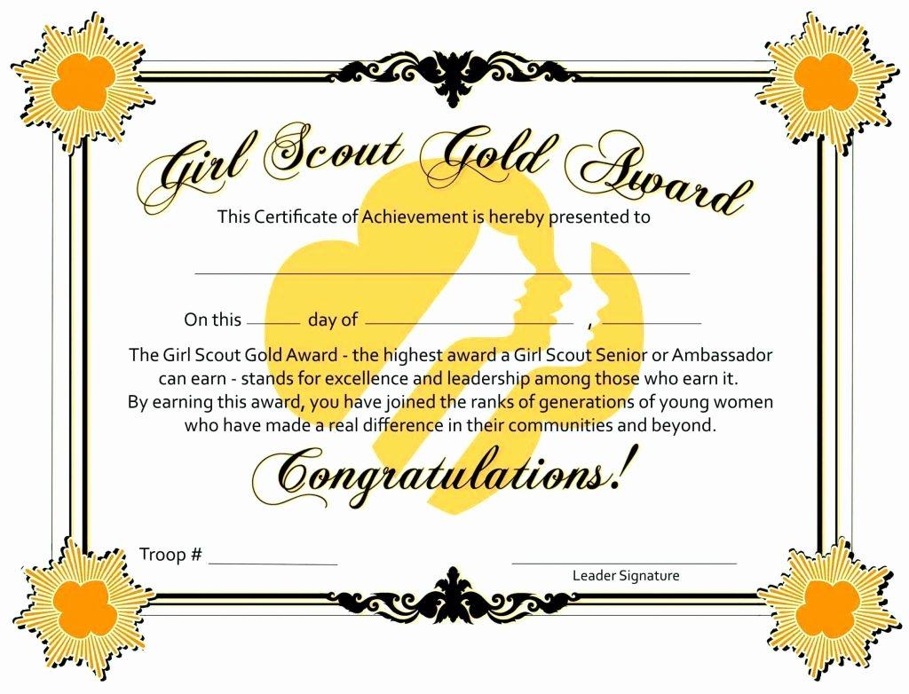 Junior Achievement Certificate Of Achievement Template Best Of Bronze Award Certificate Template Update234