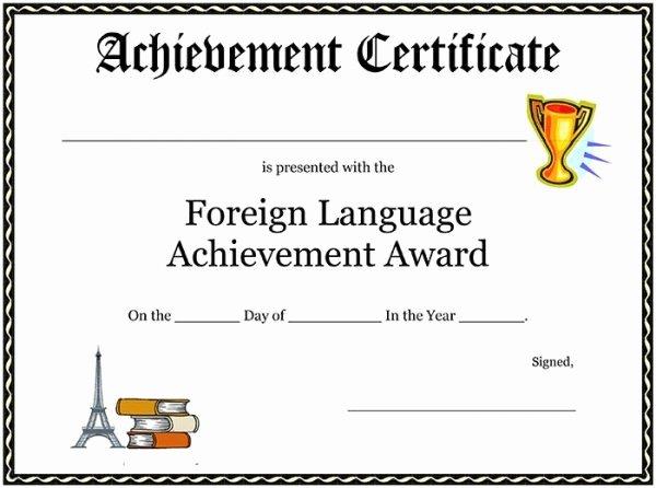 Junior Achievement Certificate Of Achievement Template Elegant 99 Free Printable Certificate Template Examples In Pdf